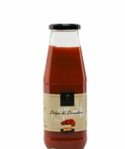 Biologische tomatenpulp